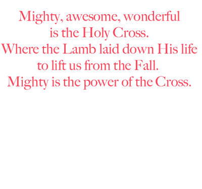 Thoughts on The Cross
