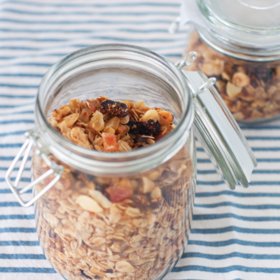Good Morning // Homemade Granola
