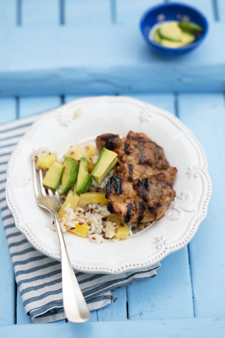 Simple & Delicious Teriyaki Grilled Chicken with Pineapple ...