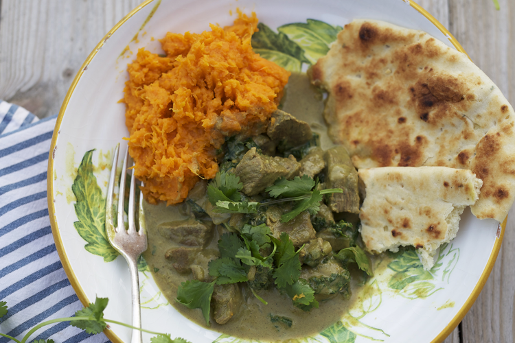 Vegetable & Chicken Curry with Sweet Potatoes